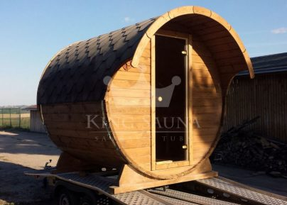"Mini ""Round"" Sauna 2.24m x 2.1m without dressing room"