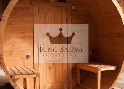 """Barrel"" saunas"