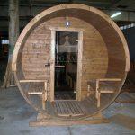 Round outdoor sauna 3.24m