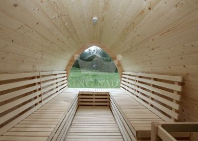 "Build yourself! ""IGLOO"" Shape Outdoor Sauna ""Barrel"""