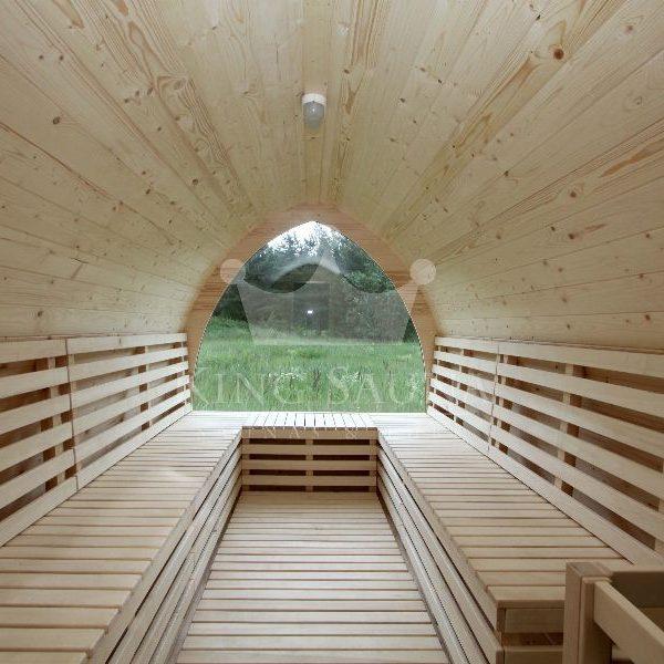 """IGLOO"" Shape Sauna Barrel 10 people"