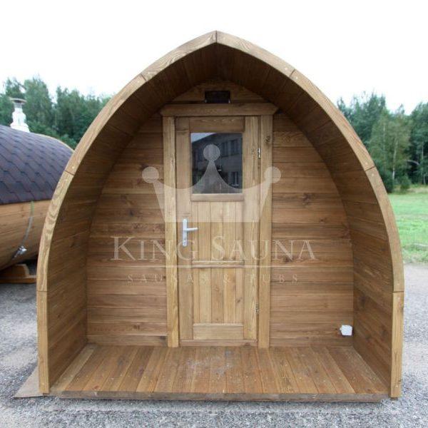 """Build yourself! """"IGLOO"""" Shape Outdoor Sauna """"Barrel"""""""