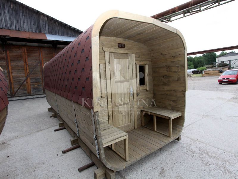 Square barrel sauna 6.0m