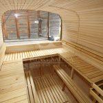 Square barrel sauna 6.0m