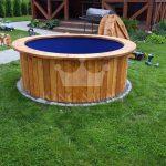 Glass fiber hot-tub